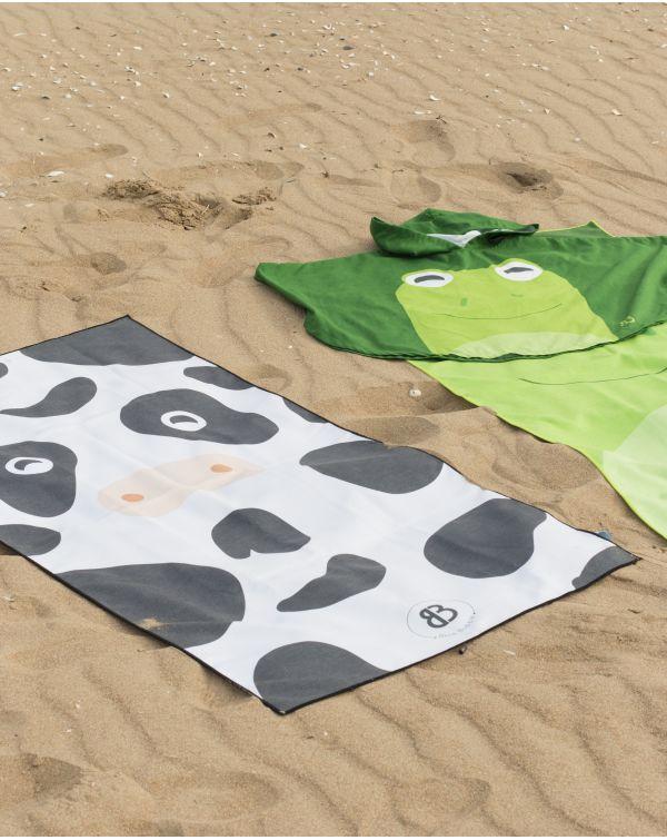 Drap de plage - Anuanua - Grenouille - 140x70 cm