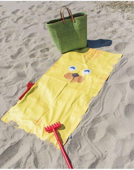 Drap de plage - Anuanua - Lion - 140x70 cm
