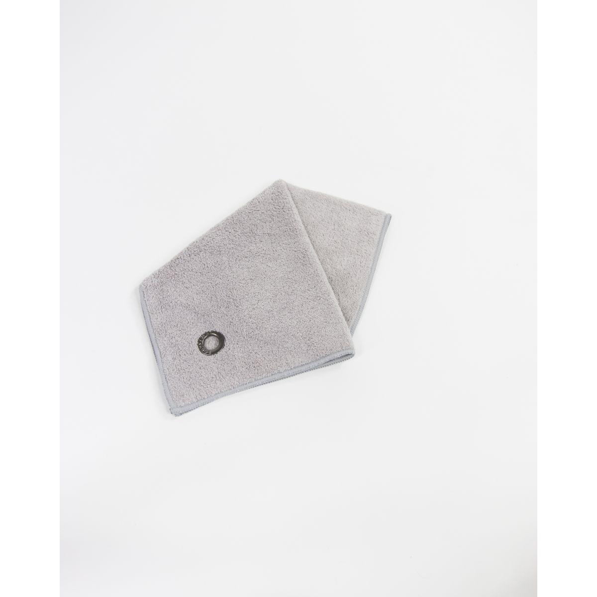 serviette mains visage microfibre vaianu gris perle bodynamic. Black Bedroom Furniture Sets. Home Design Ideas