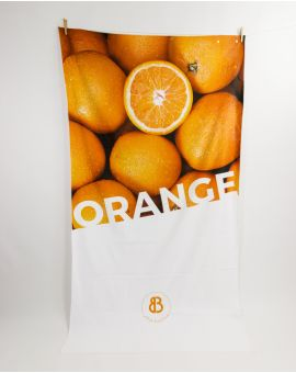 Drap de plage - Heiata - Orange - 180x100 cm