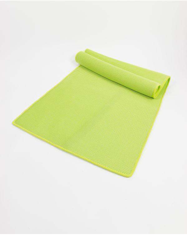 Tapis de plage (Memory Mesh®) - Moerani - Lime - 200x70 cm