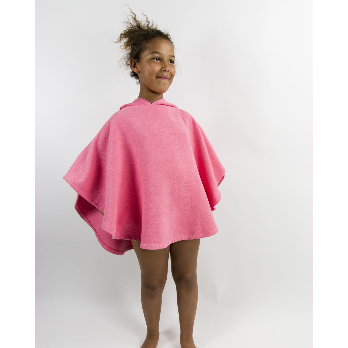 poncho de plage enfant microfibre anuanua rose hollywood vasion. Black Bedroom Furniture Sets. Home Design Ideas