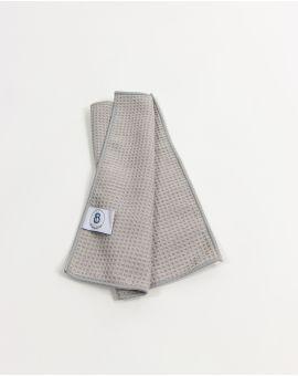 Serviette invité - Taimiti - Perle - 30x30cm